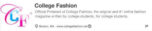 25 Best Pinterest Accounts College Fashion
