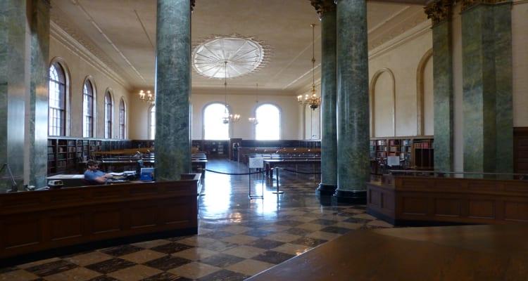 Wilson Library, Second Floor Reading Room