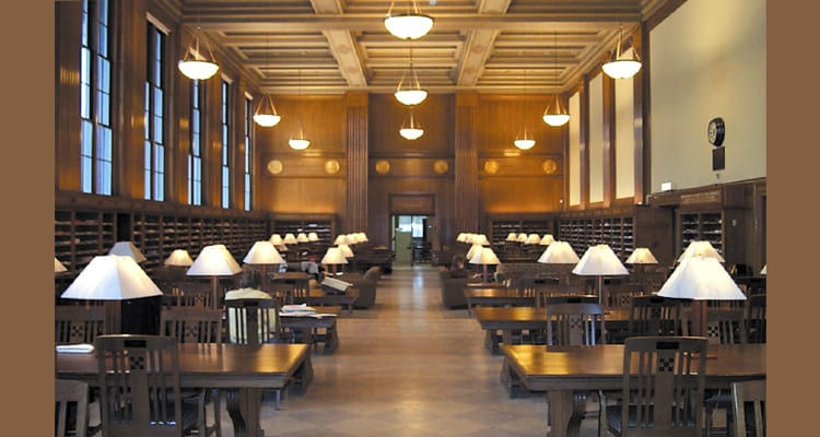 The 50 Most Amazing College Libraries College Rank