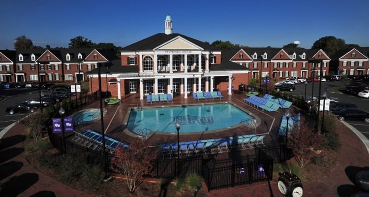 Mansion with indoor pool with diving board  The 30 Best College Pools - College Rank