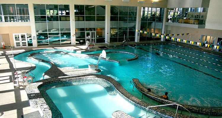 The 30 best college pools college rank University of birmingham swimming pool