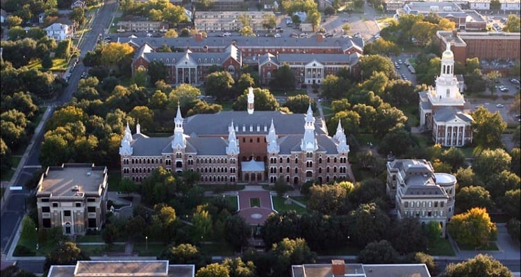 best-college-quads-Baylor University