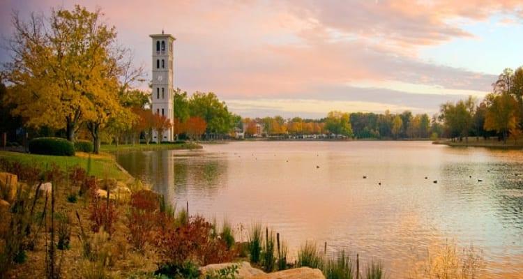 best-college-quads-Furman University