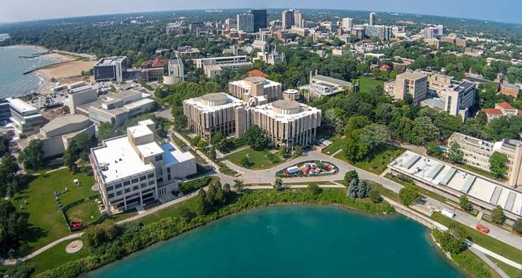 best-college-quads-Northwestern University