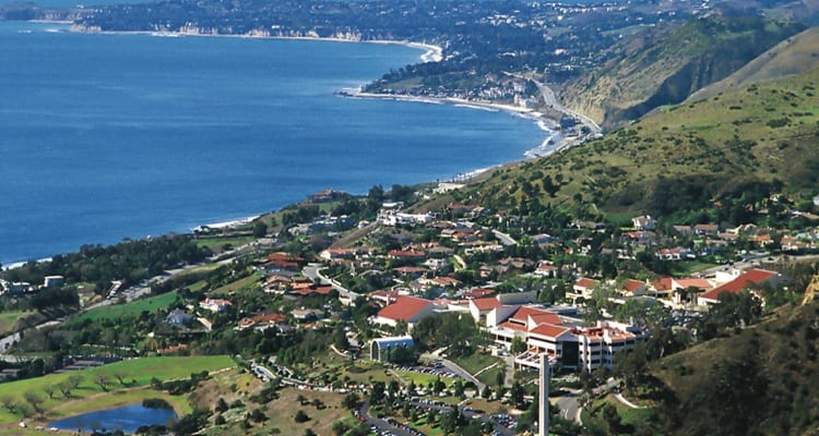 best-college-quads-Pepperdine University