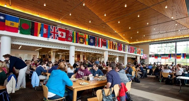 The 50 best college dining experiences college rank bates college is dedicated to the diversion of solid waste with numerous methods for minimizing the schools footprint the college composts unwanted food ccuart Gallery
