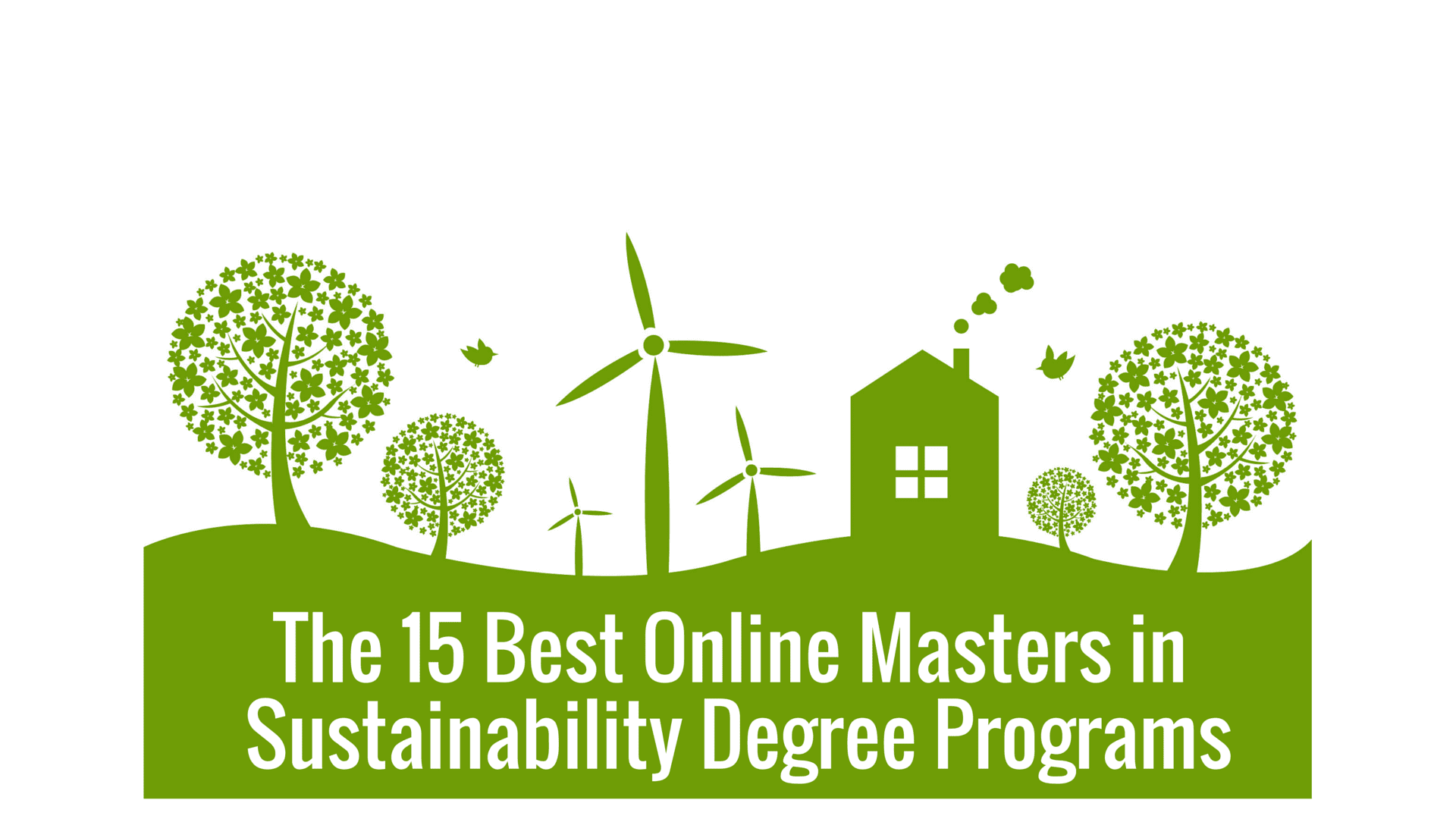 The 15 Best Online Masters In Sustainability Degree
