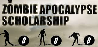 zombie apocalypse scholarship essay Zombie's of the apocalypse 2 pages 503 words november 2014 saved essays save your essays here so you can locate them quickly.