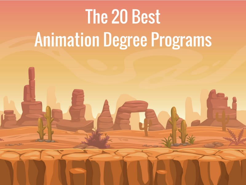 The 20 Best Animation Degree Programs College Rank