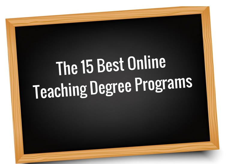 The Top 15 Online Bachelors In Teaching Degree Programs College Rank