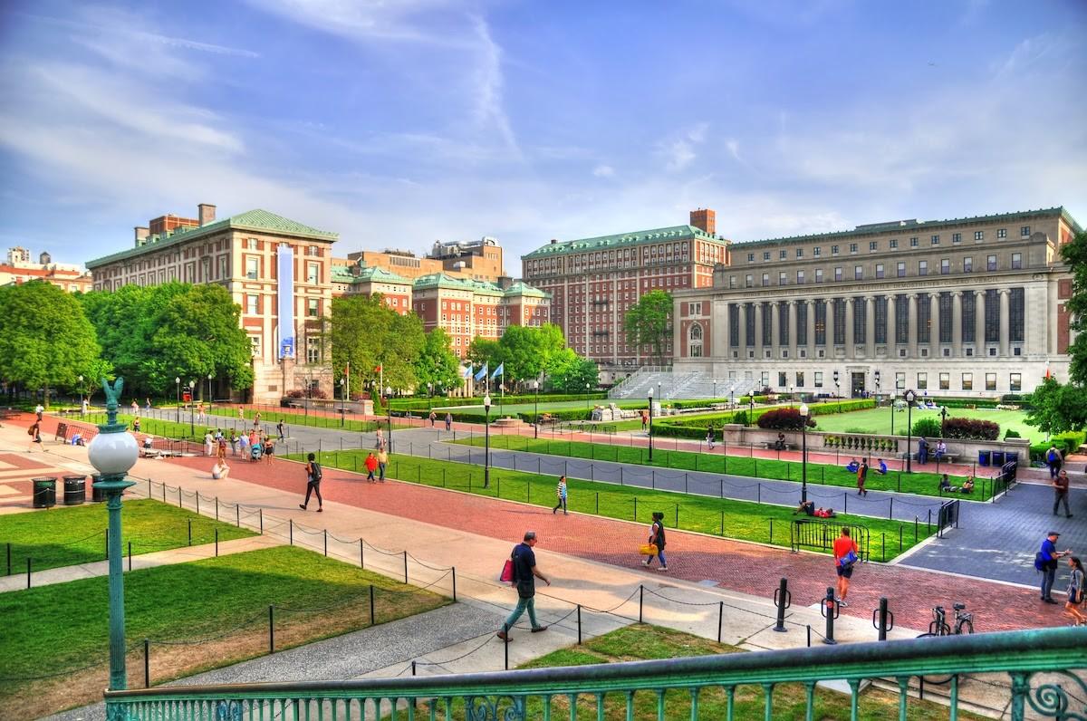 Columbia University quad
