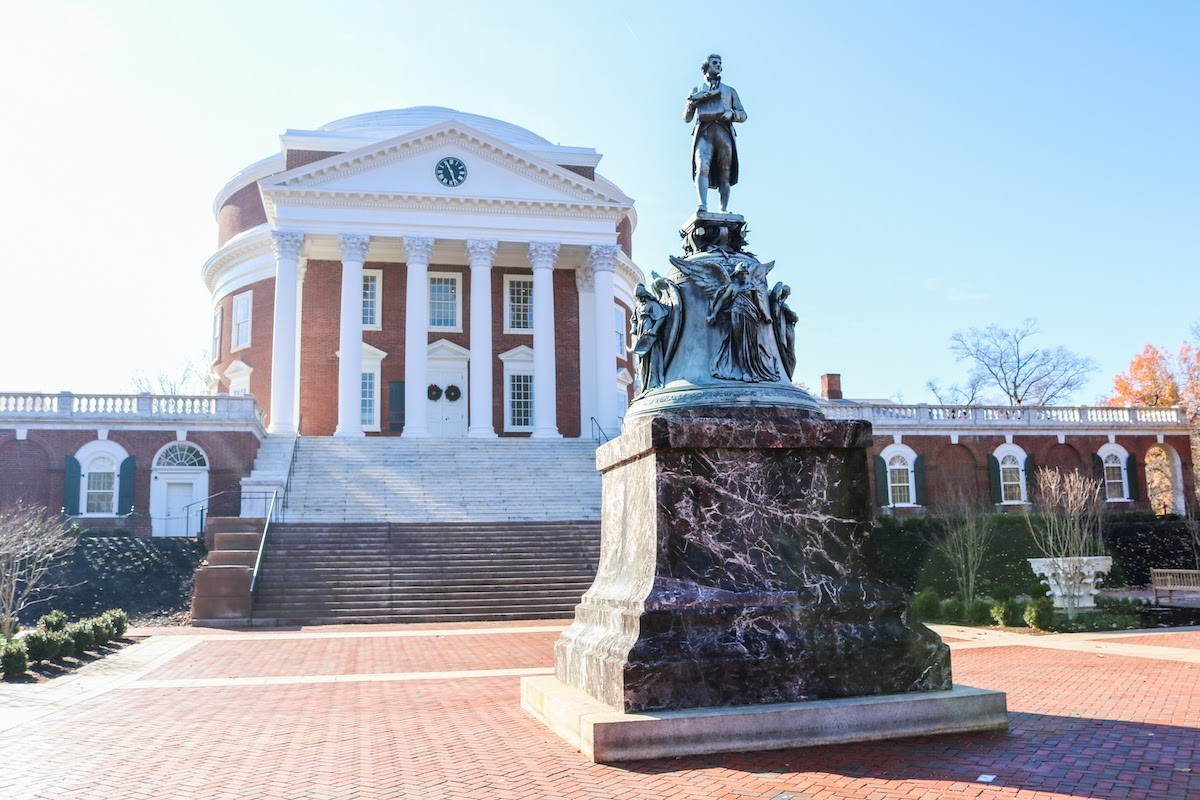 Most beautiful college campuses: University of Virginia