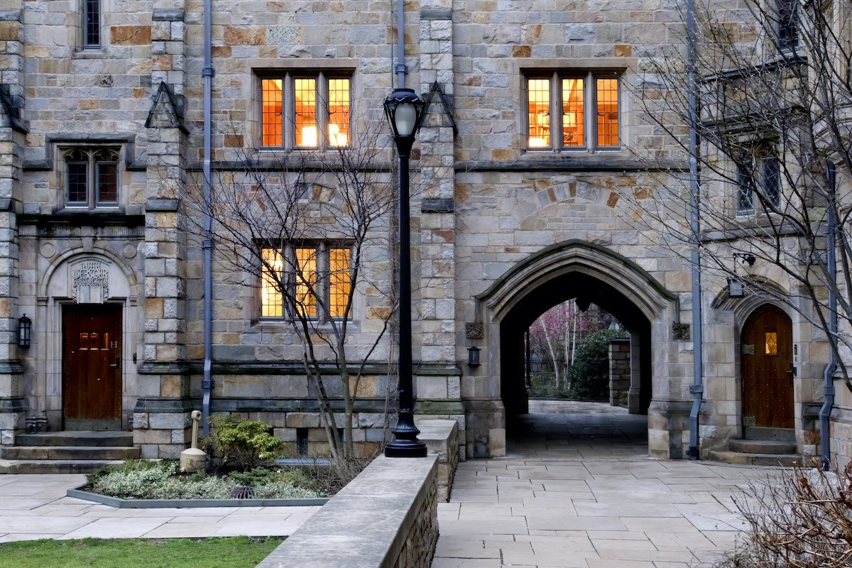 Most beautiful college campuses: Yale University