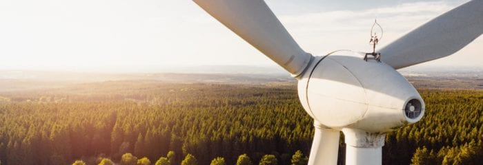 Best careers for the future: Wind Turbines in a field